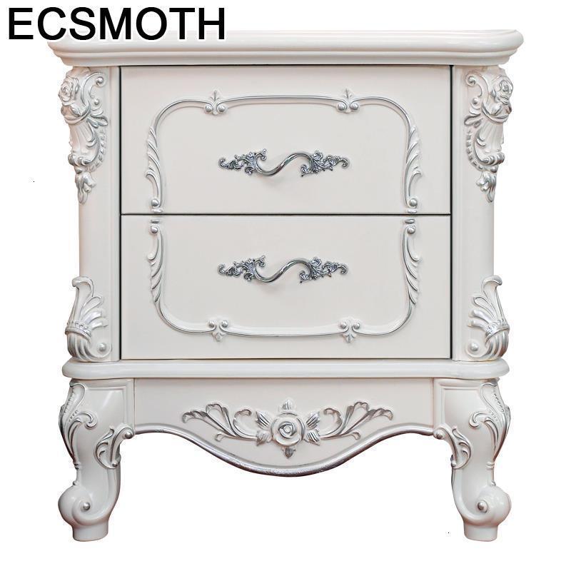 Maison Mesita Noche Para El Mesa Auxiliar European Wooden Cabinet Quarto Mueble De Dormitorio Bedroom Furniture Nightstand