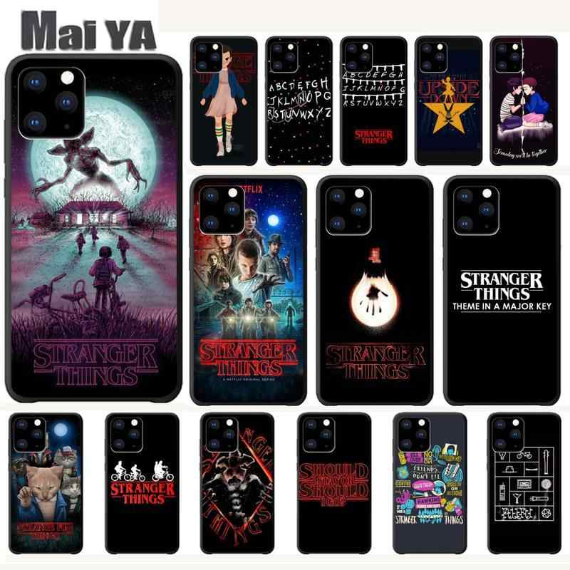 Maiya Stranger Dingen Cover Luxe Case Voor Iphone 5 S Se 6 6 S 7 8 Plus X Xs Max xr 11 Pro Max Telefoon Accessoires