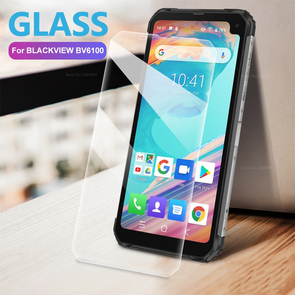 3PCS Transparent Tempered Glass For <font><b>BLACKVIEW</b></font> BV6100 BV 9500 PLUS 9600 <font><b>9700</b></font> <font><b>PRO</b></font> 9H Front Screen Protector Clear Protective Glass image