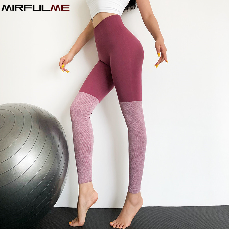 Yoga Pant Women Seamless Leggings Sport Woman Gym Running Trouser Quick Dry Sexy Hip Fitness Tights Tummy Control Leggins Female