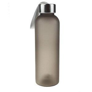 Portable Sports Water Bottles 600ml Transparent Leakproof Drinking Bottle Student School Drinkware Summer Travel Kettle Botella