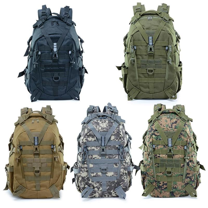Newest Large Camping Backpack Military Men Waterproof Travel Bags Tactical Molle Climbing Rucksack Outdoor Sports Riding Bag