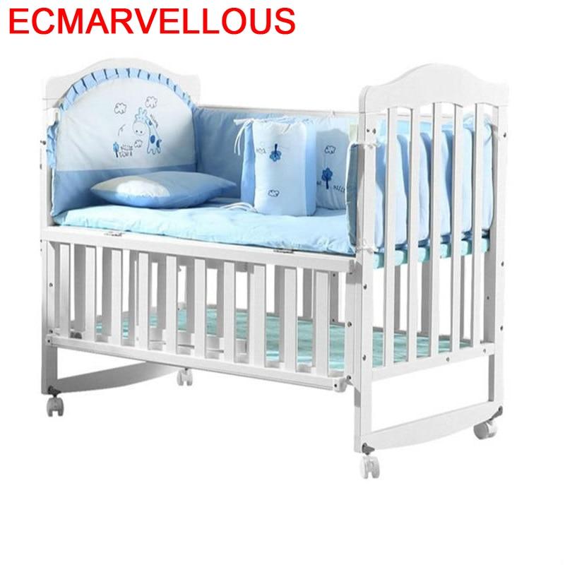 Child Kinder Bett Letti Per Bambini Girl Baby Furniture Cama Infantil Bedroom For Wooden Lit Chambre Enfant Kinderbett Kid Bed