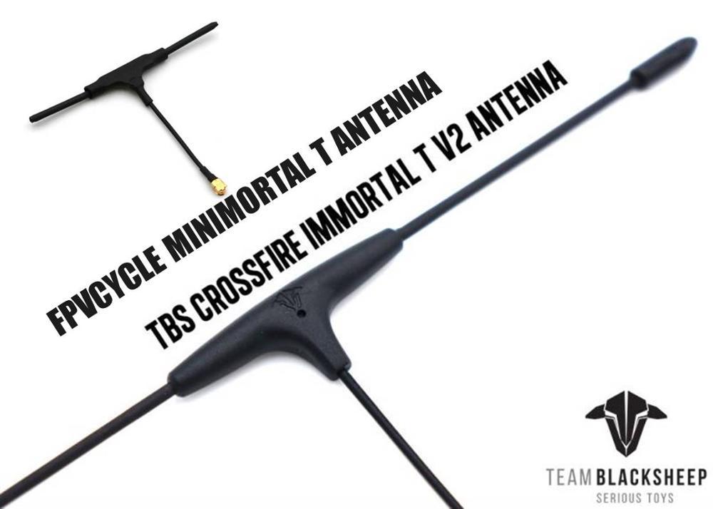 TBS Crossfire Nano Immortal T V2 Antenna FPVCYCLE MINIMORTAL T ANTENNA Receiver RX CRSF 915/868Mhz Long Range Radio System RC