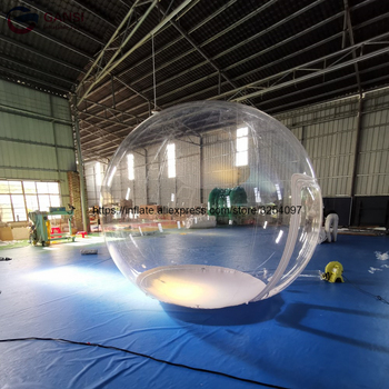 цена на Free shipping commercial customized inflatable clear bubble dome tent approval waterproof inflatable bubble tent for hotel