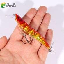 Hengjia 105 см 13 г minnow 3d глаза искусственная жесткая наживка;