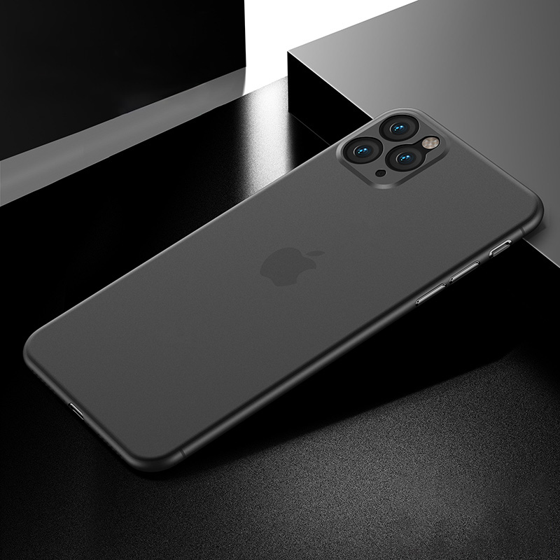 11Pro-Max【透明黑】超薄0.4mmALIMT ★/ALIMT裸机手感ALIMT ★/ALIMT防指纹ALIMT ★/ALIMT不油腻_5