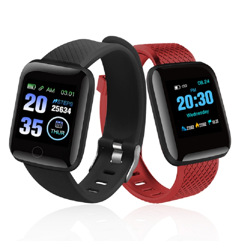 D13 Smart Watch 116Plus Heart Rate Monitoring Watch Smart Wristband Sports Watches Smart Band Waterproof Smartwatch Android IOS
