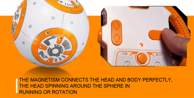 Intelligent Robotic Toys With Remote Control And Music Sound For Children 2