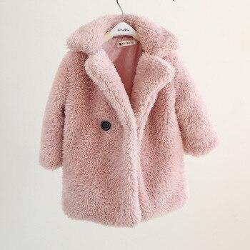 Mega Discount #9ab9 2 12 Years Children Faux Fur Coat Baby