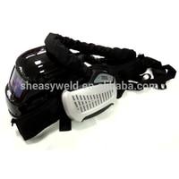 High quality Auto darkening Welding Helmet with Respirator auto darkening