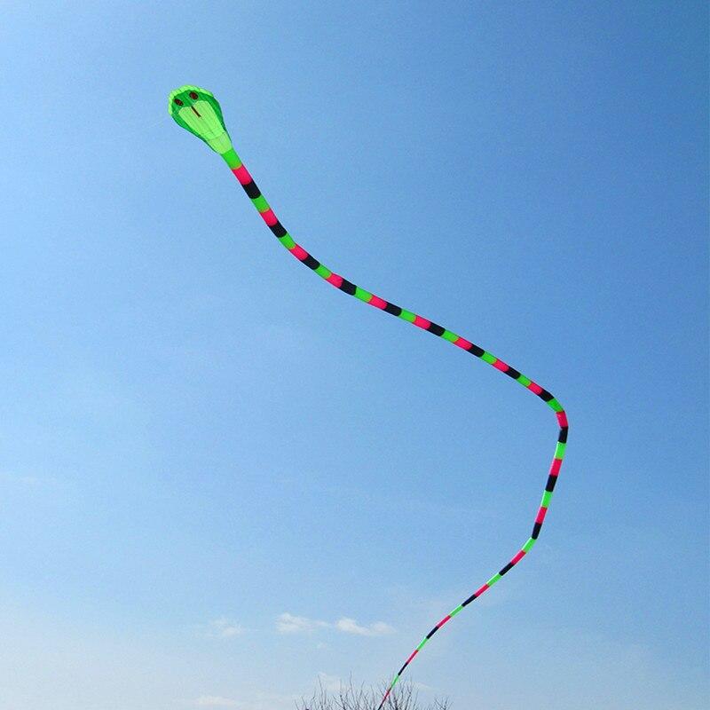 Livraison gratuite 40m double cerf-volant mouche serpent cerf-volant chaussette à vent weifang grande roue de cerf-volant souple pour adultes sport de plein air kaixuan cerf-volant usine
