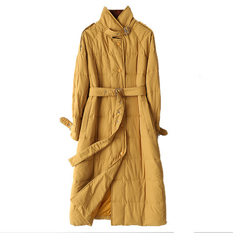 Down Women's Jacket Winter Coat Women Clothes 2020 Fashion Vintage Parka Women Jacket Long Coat Manteau Femme HK001