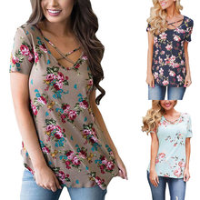 2020 summer new style casual fashion bohemian floral chiffon