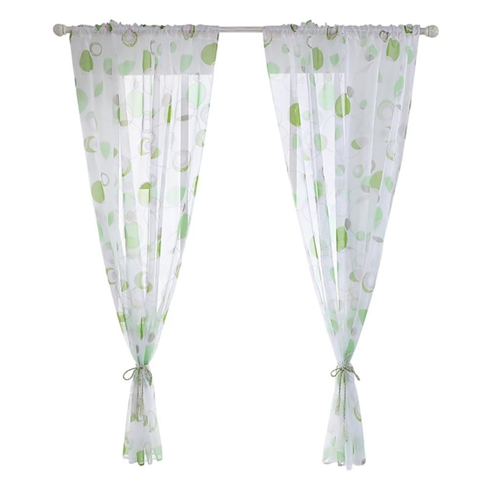 1X Door Window Panel Room Divider Crystal Beads String Curtain 100*200cm GD