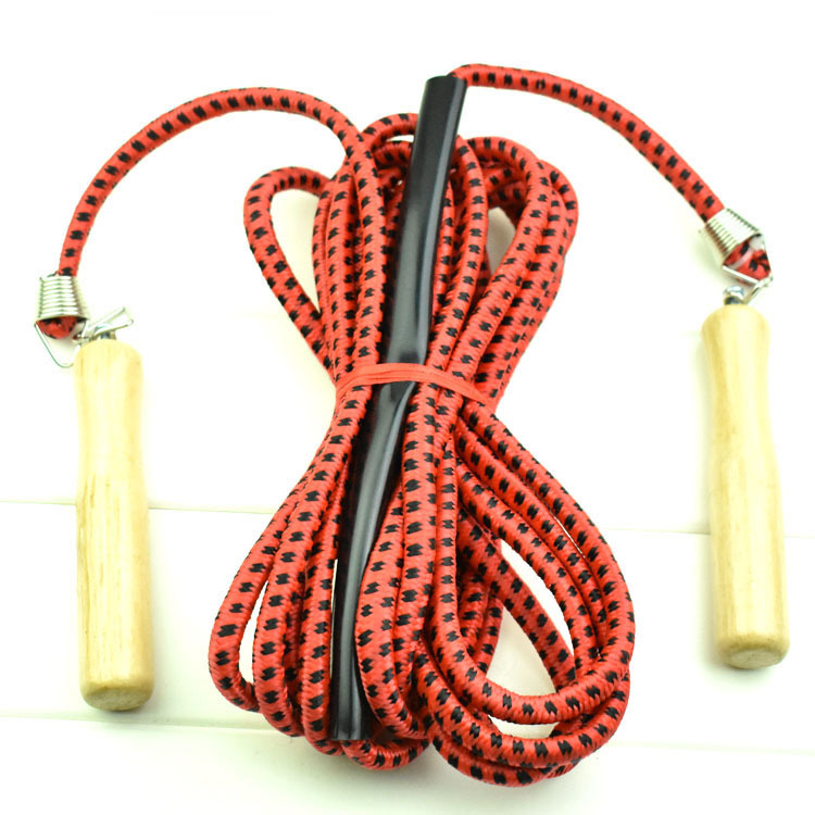 Tendon 7 M Long Rope Groups/Multi-seat/Groups Jump Rope Cotton Thread Wooden Handle Collective Jump Rope Multi-seat Jump Rope