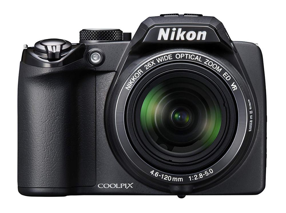 Appareil photo numérique NIKON P100 Coolpix P100 10 MP d'occasion avec Zoom de réduction de Vibration optique 26x (VR) et écran LCD 3 pouces