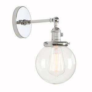 Image 1 - Permo 5.9 Vintage Wandlamp Moderne Glazen Wandkandelaar Wandlampen Armaturen Armatuur Loft Nachtkastje Spiegel Lamp Trapverlichting