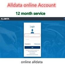 Verdadeiro mais novo 2020 alldata software de reparação automática alldata software conta on-line 12 meses serviço alldata software suporte telefone