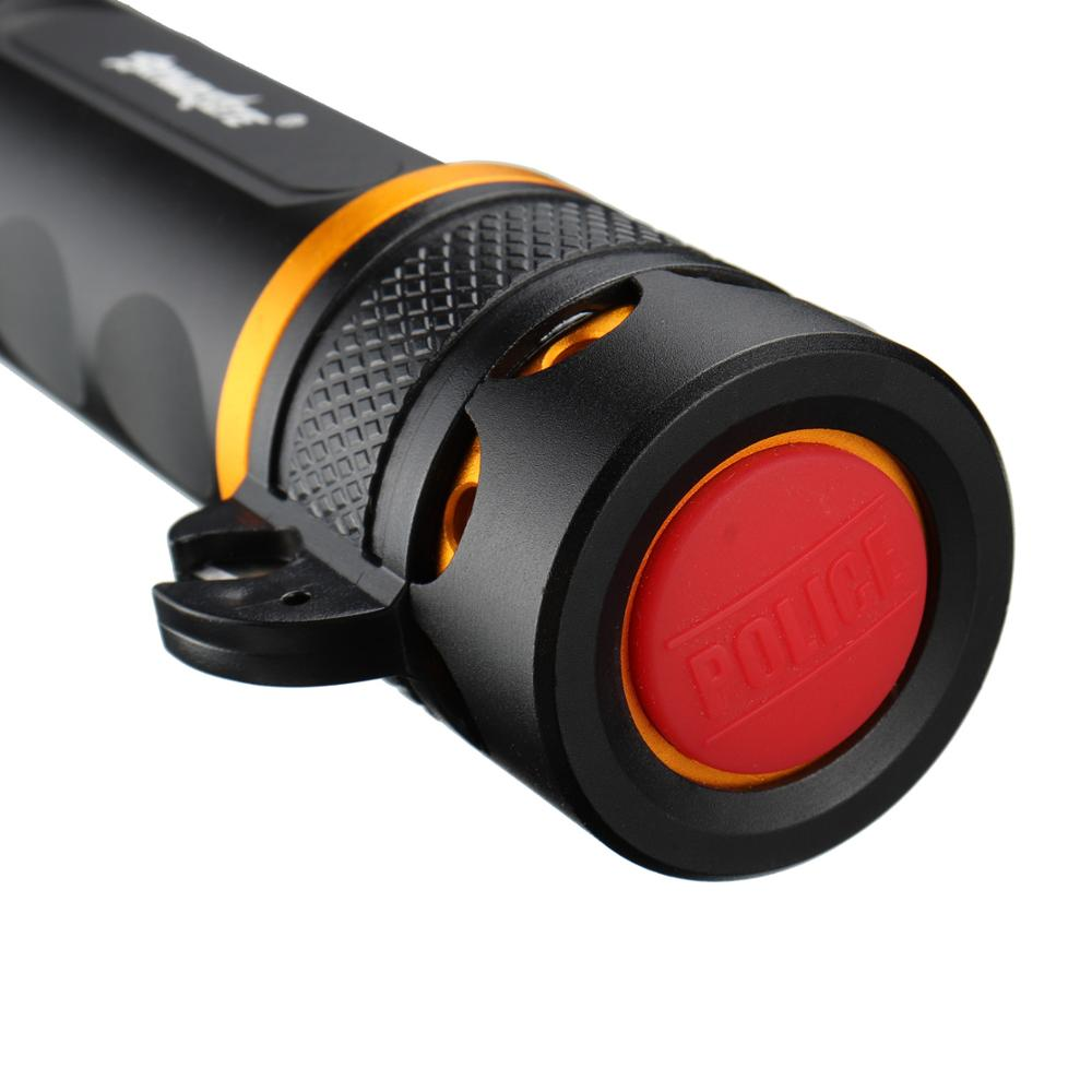 Neuankömmling 5000LM T6 LED Multifunktionale Polizei Taschenlampe - Tragbare Beleuchtung - Foto 5