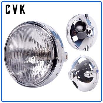 цена на CVK Motorcycle Headlight Headlamp Head Light For HONDA Hornet CB400 CB500 CB600 CB1300 VTR250 CB250 VTEC400 CB VTEC 400 Lamp