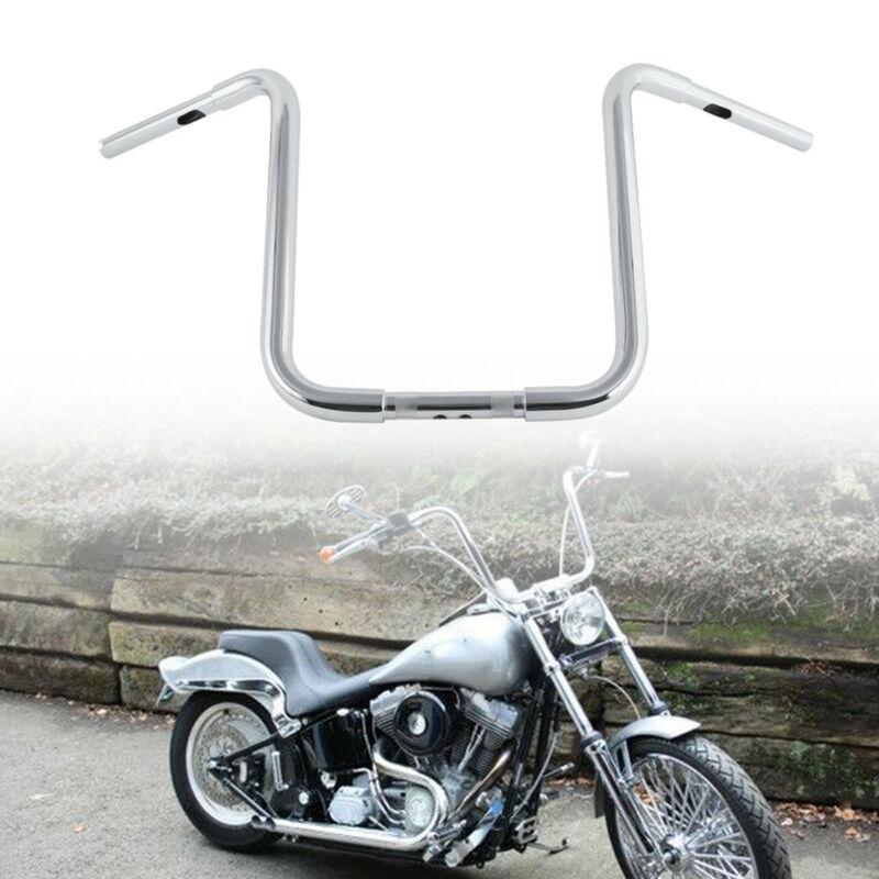 """Chrome 1/'/' 10/"""" Rise Ape Hangers Handlebar For Harley Sportster XL 883 1200"""