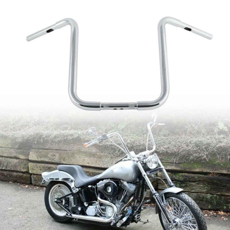 """1.25/"""" 18/"""" Rise Ape Hanger Handlebar For Harley Custom FLST Sportster XL 883 1200"""