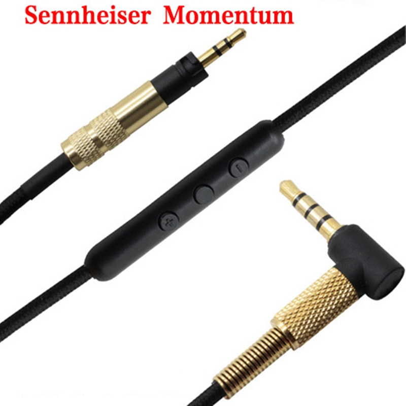 Replacement Audio Cable For Sennheiser Momentum 2.0 /HD4.40 HD 4.40 BT HD4.50 HD 4.50 BTNC HD4.30i HD4.30G Headphone Cable