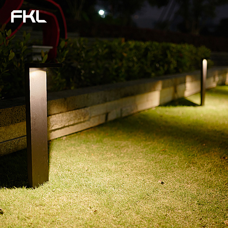FKL Garden Light LED Outdoor Waterproof Street Light Simple Modern Square Park Lawn Villa Outdoor Grass Light - 2