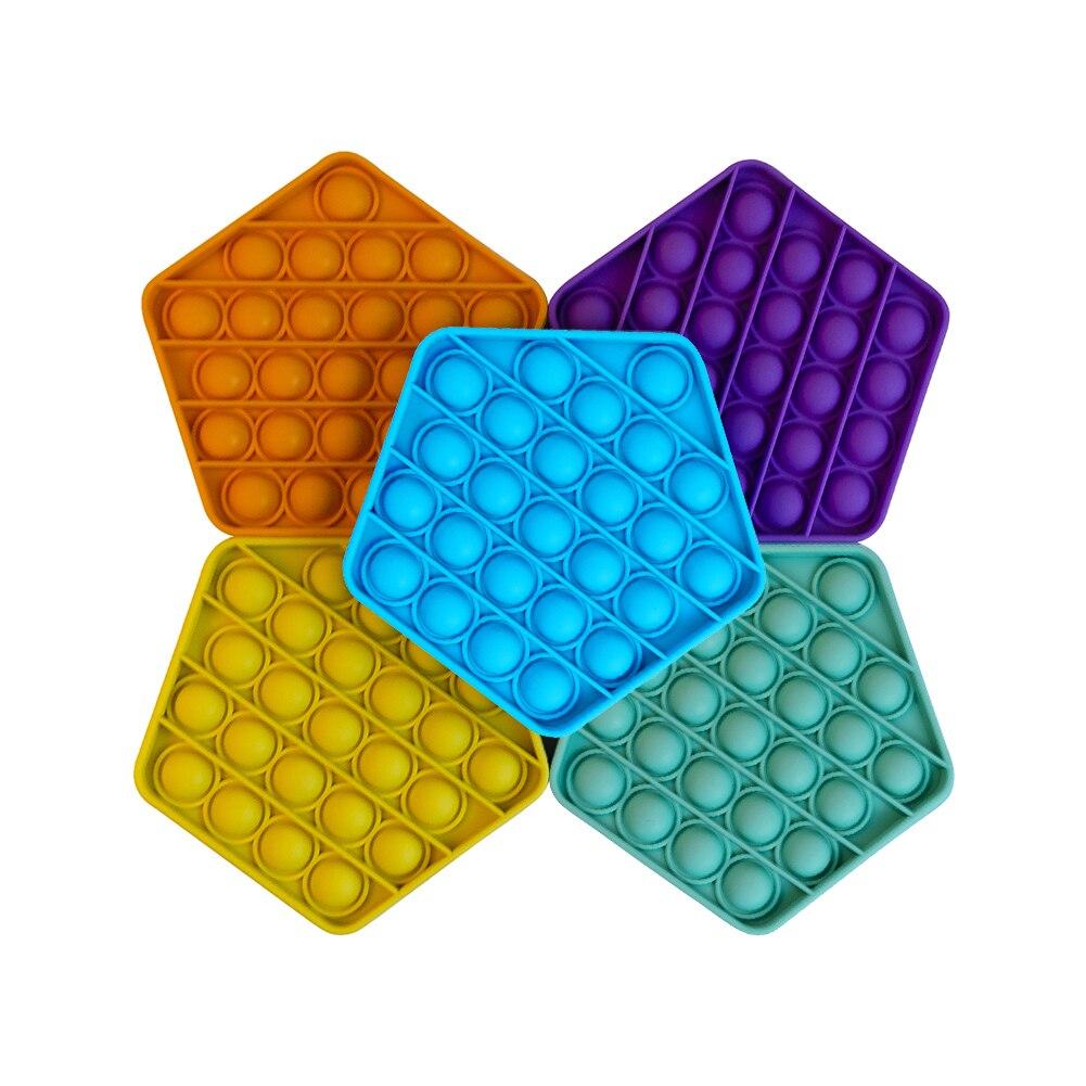 Puzzle de Table de soulagement de Stress de jouets sensoriels de bulle de poussée de Pop pour l'autisme