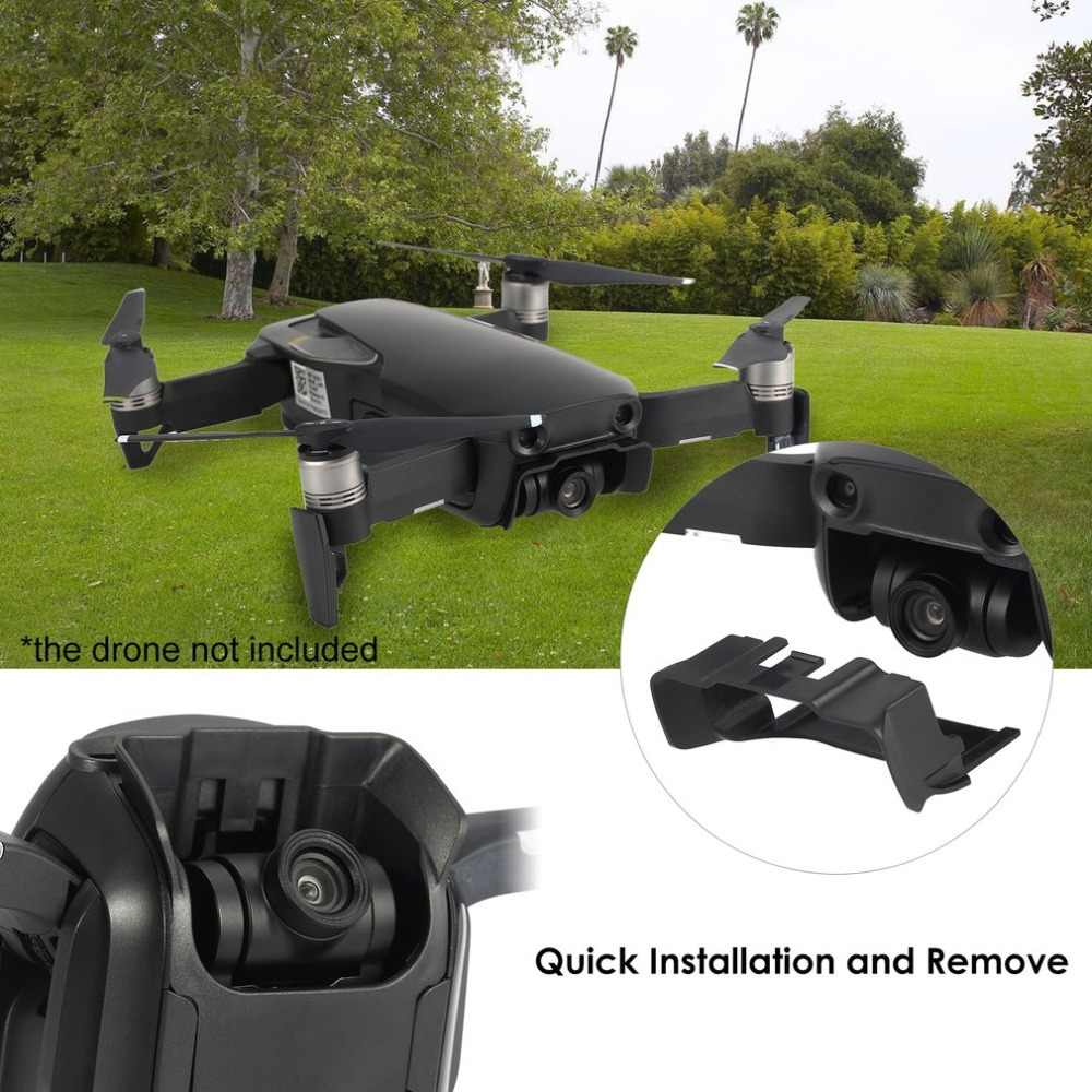 Gimbal Kamera Lensa Sunhood Kerai Penutup Pelindung Case Pelindung Anti-Glare Cap Bagian Aksesori untuk DJI MAVIC Udara RC FPV Drone
