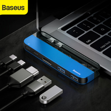 Baseus USB HUB to Dual 3.0 C for MacBook Pro 4K HD PD Surface HDMI Thunderbolt 3 Multi Type Splitter