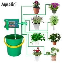 自動マイクロホーム点滴灌漑水まきキットシステムスプリンクラースマートコントローラと庭、盆栽屋内使用 #22018