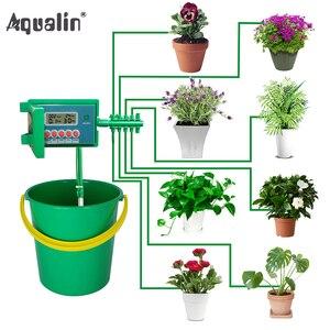 Image 1 - Автоматический набор для капельного полива #22018, система распылителя с умным контроллером для сада, бонсая, для использования в помещении