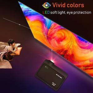 Проектор BYINTEK K18 Full HD 4K (опционально ТВ-приставка Android 10,0), светодиодный мини-проектор 1920x1080P для смартфона 3D 4K cinema
