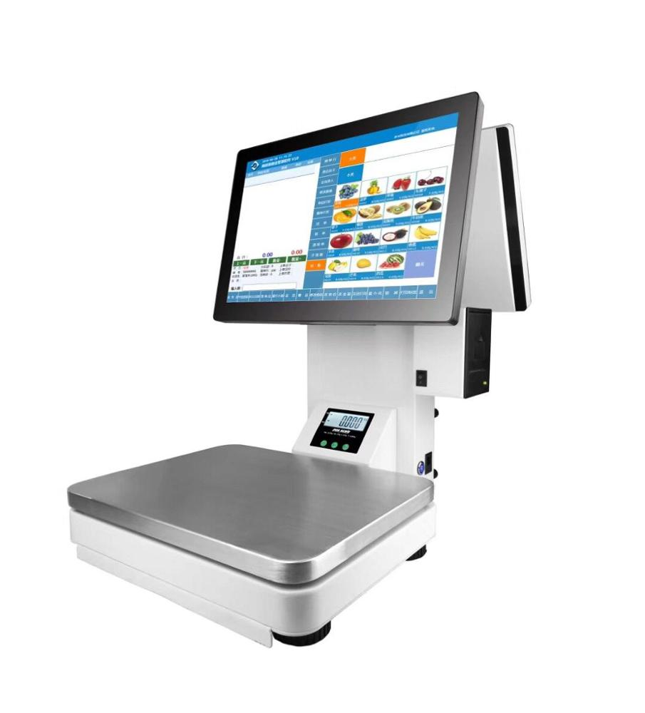 Capacitive Touch Screen Windows Pos Weighing Scale