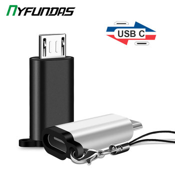 Type C Female to Micro USB Male Cable Adapter Converter for Xiaomi Redmi Huawei Meizu Samsung Galaxy S7 Microusb Android Phone 1