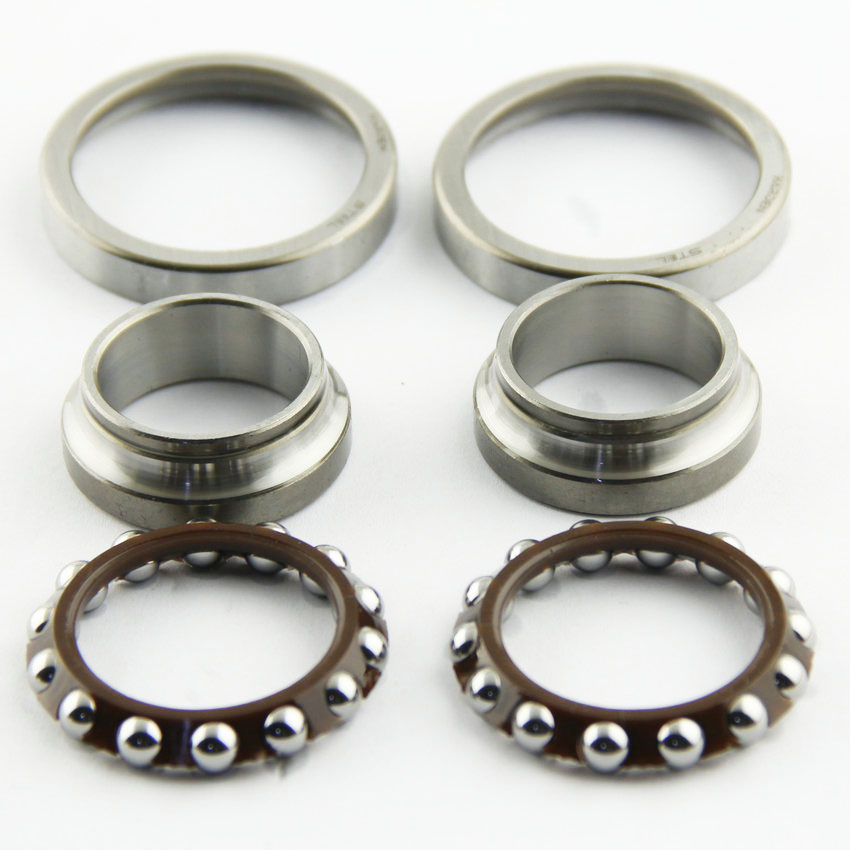 Steering Head Bearing Kit For Honda NX125 NX250 AX-1 NX500  XR250L FX650 Vigor XR650L SLR650 FMX650 XRV750 Africa Twin