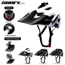 SUNRIMOON-casco ultraligero para bicicleta de montaña y de carretera, para ciclismo al aire libre