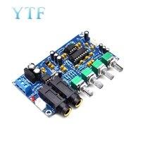 XH-M173 amplificador de microfone placa karaoke reverberação dupla potência ac 6v 20v ac 12v transformador