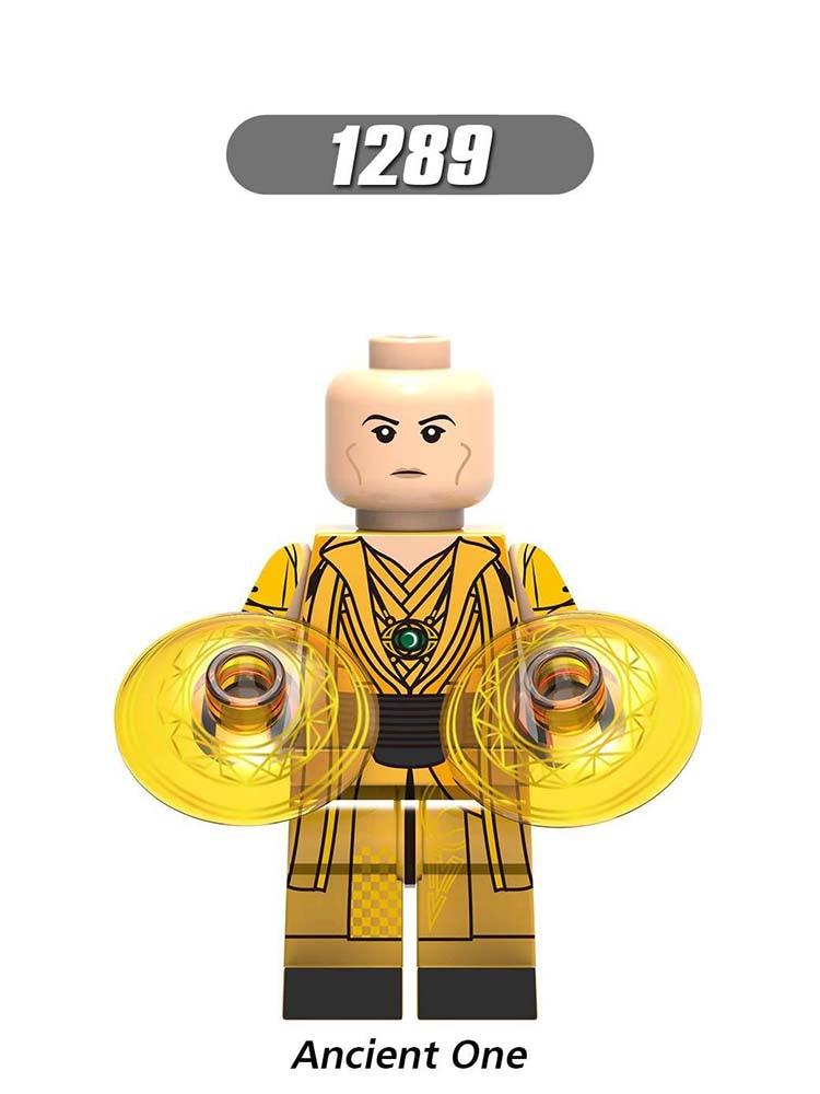 Single Sale LegoINGlys Super Heroes Avengers Endgame Far From Home Ancient One Thor  Captain Building Block Toys Children Gift