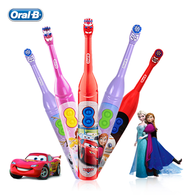 Oral B Electric Tooth brush for Children Gum Care Rotation Vitality OralB Health Kids Soft ToothBrush Battery Powered image
