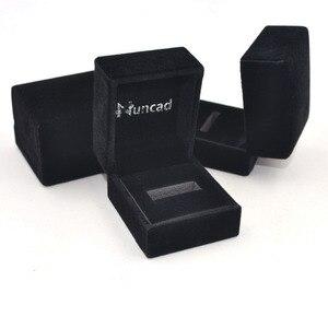 Image 5 - Кольцо для помолвки Nuncad T062R, синее кольцо с отверстием для помолвки, ширина 8 мм, Вольфрамовая сталь, Размер 7 12