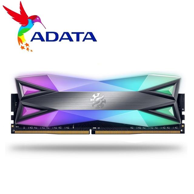 ADATA XPG D60 PC Desktop Módulo de Memória RAM Memoria 8GB GB 2X8GB 16 DDR4 8 PC4 3200Mhz 3000MHZ 2666MHZ DIMM 2666G 3000 3600 MHZ