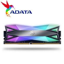Adata xpg D60 pcデスクトップメモリramメモリアラムモジュール8ギガバイト16ギガバイト2X8GB DDR4 PC4 3200mhz 3000mhz 2666 dimm 8グラム2666 3000 3600 mhz