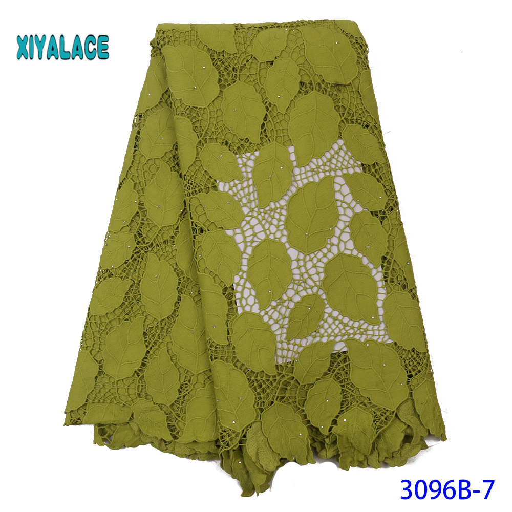 New Arrival African Swiss Cotton Voile Lace Nigerian In Switzerland Miminal Holes Tulle Lace Fabric For Daily Dress YA3096B-7