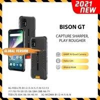 UMIDIGI BISON GT wodoodporny IP68/IP69K Helio G95 wytrzymały telefon 64MP AI Quad Camera 8GB + 128GB 6.67