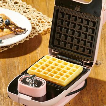650W Electric Waffles Maker Iron Sandwich Machine Bubble Egg Cake Oven Breakfast Waffle Breakfast Machine 220V 220v automatic electric household egg roller machine egg sausage machine egg roll breakfast machine ham egg sausage maker