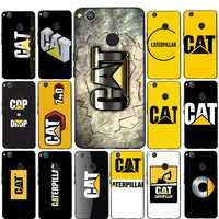 Funda de teléfono suave para Huawei P8 Lite 2015 2017 P9 P9 Lite 2016 2017 Mini P10 Lite P9 Lite logo de Caterpillar