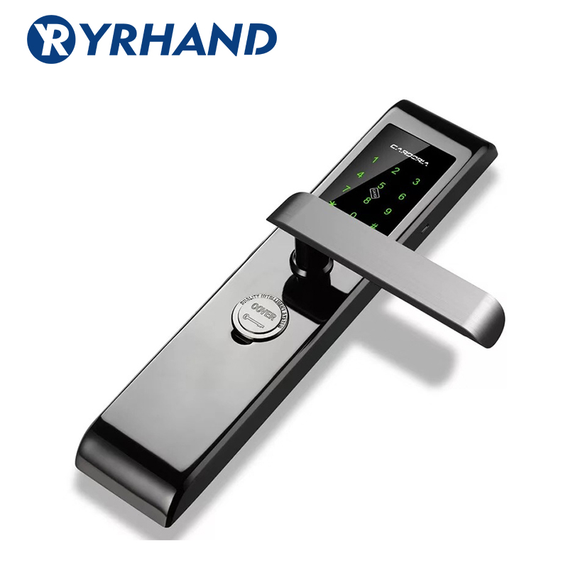 Smartphone Bluetooth Door Lock APP Combination, Code Touch Screen Keypad Password Smart Electronic door Lock with TT lock app